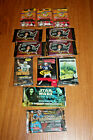 LOT OF 12 UNOPENEED PACKS OF CARDS AMERICAN BANDSTAND STAR WARS BEANIE FOOTBALL