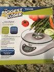 THE BIGGEST LOSER DIGITAL 66 LB CAPACITY FOOD SCALE BY TAYLOR