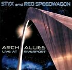 Reo Speedwagon,Styx, Arch Allies: Live at Riverport, Very Good, Audio CD