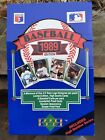 1989 Upper Deck Baseball Wax Box 36 Packs with High Numbers from SEALED CASE!