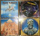 Iron Maiden Powerslave & Seventh Son Of A Seventh Son EMI Remastered CD's EX+