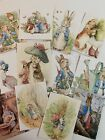 Vintage Style Easter CARDS Bunny DIE CUTS Gift Tags 24 Piece Beatrix Potter