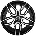 4 G44 Nigma 20x10 inch Black Rims fits CADILLAC DTS PERFORMANCE PKG 2006 2011