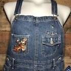 Winnie The POOH Tigger Womens Denim Overalls Size M NEW With tags