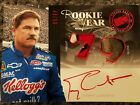 Terry Labonte 2012 Press Pass Redline AUTO RedInk Race Used FIRESUIT PATCH Glove