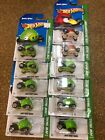 Hot Wheels Angry Birds 11 X Die Cast Cars In Packets As Pictured