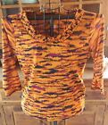 Lot of 4 Ruby Rd Womens 3 4 Sleeve Tops Shirts Gently Worn Size Large