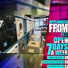 ***OPEN 7 DAYS A WEEK*** Tumble Dryer Vented or Condenser Available AdRef 100004