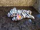 Vintage Beanie Baby - Blizzard the White Tiger - 90s Edition