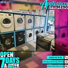 ***OPEN 7 DAYS A WEEK*** Tumble Dryer Vented or Condenser Available AdRef 400009