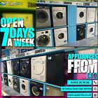 ***OPEN 7 DAYS A WEEK*** Tumble Dryer Vented or Condenser Available AdRef 400012