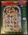 Dimensions Feltworks Appliqu Nativity Advent Calendar 8149 Christmas New