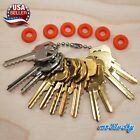 Cut Key Set of 12 Residential with 6 rubber rings locksmith lockout space