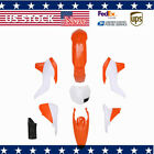 Orange White Plastic Side Cover Fairing Kit for KTM 125 SX 200 XC-W 300 XC 450