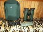 Swarovski Optik EL 10x42 SV Binoculars 34110 Case Straps Lens Caps All ExCond