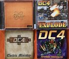 DC4- Volume One, Explode, Electric Ministry, Atomic Highway (4 CD Lot) Dio, WASP