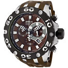 New Invicta 0907 Subaqua Reserve SWISS MADE Chronograph Brown Dial Men's Watch