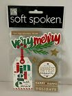 MAMBI Me  My Big Ideas Soft Spoken Very Merry Dimensional Stickers