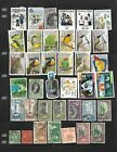 38 all different used stamps from Trinidad and Tobago