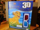 Disney~The Lion King 3-D Storybook By: Parragon (2011, Hardcover)