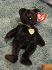 TY Beanie Baby -10 Years Bears - 2003 Signature Bear - Stuffed Animal Teddy Bear
