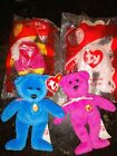 ~~~Ty McDonalds Beanie Babies Lot Of 4~~ ALL BEARS ~~~Vintage
