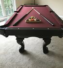 7 Brunswick Contender Pool Table With Extras