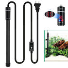 500W LED Submersible Aquarium Heater Fish Tank Water Thermostat Titanium Alloy
