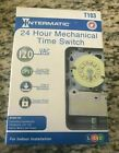 Intermatic T103 24 Hour Mechanical Water Heater Timer 40A 240 120v
