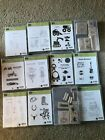 Stampin Up RETIRED Kids Boy Car Girl Stamps lot of 12