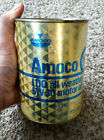 Vintage Amoco Oil Can, 5W-30, 1 Quart, Full, Gas and Oil Collectible
