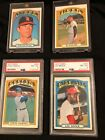 1972 topps  PSA graded stars and more