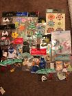 Huge Lot 20pk Jolee And Other Scrapbooking Stickers Raised