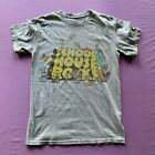 Ripple Junction Mens School House Rock T Shirt Gray Small