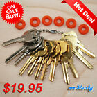 Cut Key Set of 12 Residential with 6 rubber rings locksmith lockout