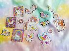 Lisa Frank Lot of 16 Singles Stickers Collection Unicorn horses and pegasus