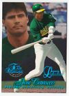 1997 JOSE CANSECO Flair Showcase Legacy Row 1 # 100 OAKLAND A'S
