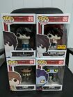 Funko Pop! Death Note Set of 4 (Hot Topic Excl. L with Cake, L, Light, Ryuk)