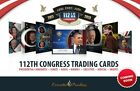 EXECUTIVE TRADING CARDS 2012 112th COBGRESS SET