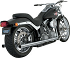 Vance  Hines Softail Duals Exhaust System Chrome16893