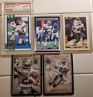 Emmitt Smith Rookie Cards 101T NM M And 27T PSA10 Plus Extras.