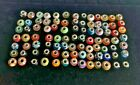 Lot of 91 Assorted with Large Hole Beads for Bracelets or Necklace