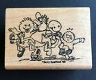 Suzys Zoo Rubber Stamp Wood Mounted Rubber Stampede 1988 Chorus Line Friends