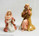 Lenox Little Town of Bethlehem Mary  Joseph Nativity Figurines No Box