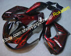 For Yamaha YZF1000R Thunderace YZF1000 R 1997-2007 Red Flame Motorcycle Fairing