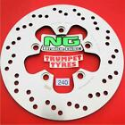 SUZUKI 400 GSX INAZUMA 00 NG REAR BRAKE DISC GENUINE OE QUALITY UPGRADE 240