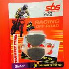 Kawasaki KLR 600 E 85 > 94 SBS Front Off Road Race Sinter Brake Pads 546RSI