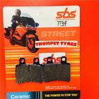 Sherco SE 125 1.25F 10 > ON SBS Rear Ceramic Brake Pads OE QUALITY 773HF