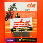 Sherco ST 125 Formula Cal 13 >14 SBS Rear Off Road Sinter Race Brake Pads 803RSI