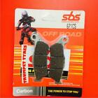 Highland 950 V2 Motard 00>ON SBS Front Carbon Silver Brake Pads OE QUALITY 671CS
